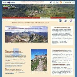 Sentiers de randonnée en Cévennes autour du Mont Aigoual et sur les Causses