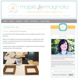 Maple and Magnolia
