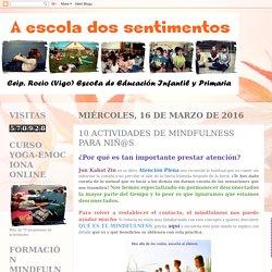 10 ACTIVIDADES DE MINDFULNESS PARA NIÑ@S