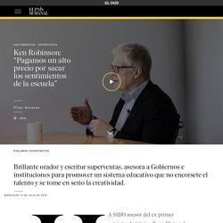 """Ken Robinson: """"Pagamos un alto precio por sacar los sentimientos de la escuela"""""""