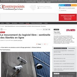 Le mouvement du logiciel libre : sentinelle des libertés en ligne