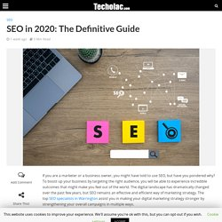 Learn the Definitive Guide of SEO in 2020