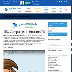SEO Companies in Houston TX