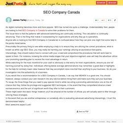 SEO Company Canada
