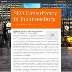 SEO Consultancy in Johannesburg