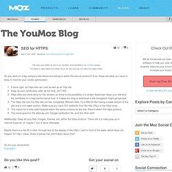 SEO for HTTPS - YOUmoz