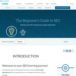 SEO: The Moz Beginner's Guide
