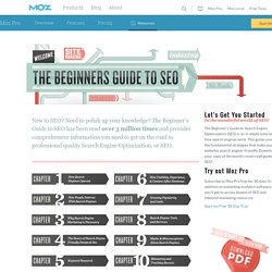 SEO: The Free Beginner's Guide From SEOmoz