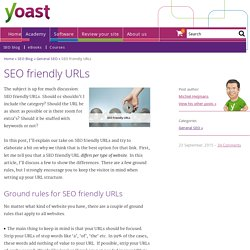 How to Make Your URLs SEO Friendly