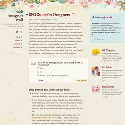 SEO Guide for Designers