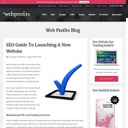 SEO Guide To Launching A New Website
