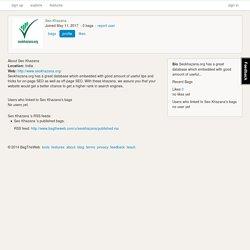 Seo Khazana- Classified Site List