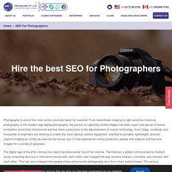 Seo for photographers - Hire seo for wedding photographers