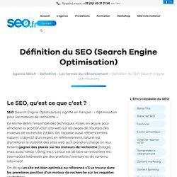 : Qu'est ce que le SEO (Search Engine Optimisation) ?