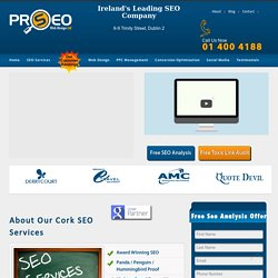 SEO Services Cork - PRO SEO No #1 SEO Company Cork