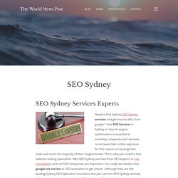 SEO Sydney – The World News Post