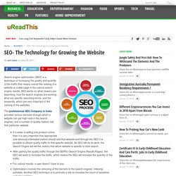 SEO- The Technology for Growing the Website