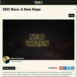 SEO Wars: A New Hope