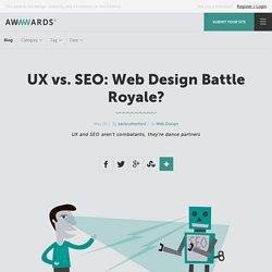 UX vs. SEO: Web Design Battle Royale?