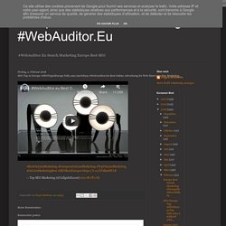 SEO Top in Europe #SEOTopinEurope bitly.com/2mOJt3m #WebAuditor.Eu Best Online Advertising for Web Store's On-line Marketing...