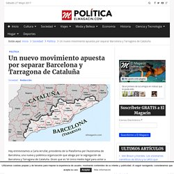 Piden separar a Barcelona de Cataluña