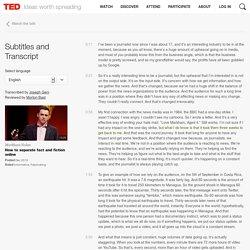 Markham Nolan: Cómo separar los hechos de la ficción en Internet.