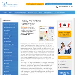 Divorce Mediation And Separation Harrowgate
