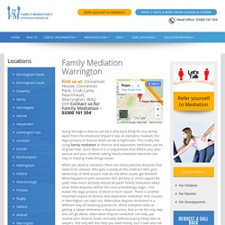 Divorce Mediation And Separation Warrington