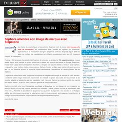 Sephora améliore son image de marque avec Stepstone