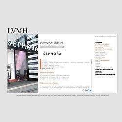 Sephora, Distribution Sélective