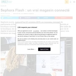 Sephora Flash allie proximité et digital