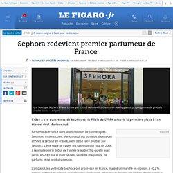 Sephora redevient premier parfumeur de France