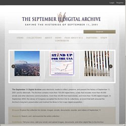 September 11 Digital Archive