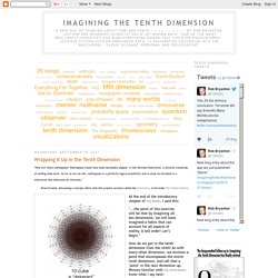 Imagining the Tenth Dimension: September 2011
