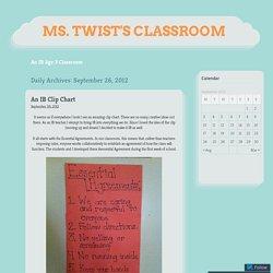 Ms. Twist's Classroom