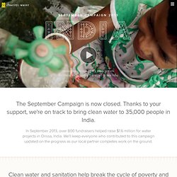 September 2010 | charity: water