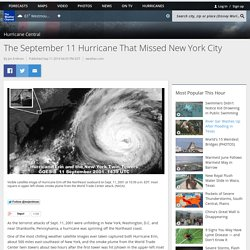 The September 11 Hurricane That Missed New York City - weather.com