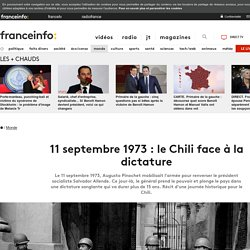 11 septembre 1973 : le Chili face à la dictature