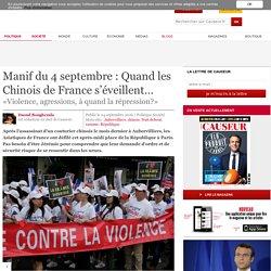 Manif du 4 septembre : Quand les Chinois de France s'éveillent… - Causeur