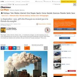 11-Septembre : non, 58% des Français ne croient pas à la théorie du complot