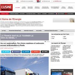Au 1er septembre, les vieux camions et autocars seront indésirables à Paris - L'Usine de l'Energie