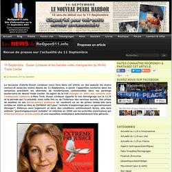 11-Septembre : Susan Lindauer et les bandes vidéo manquantes du World Trade Center