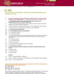 Bulletin officiel N° 34 du 18 septembre 2003 - MENE0300417C