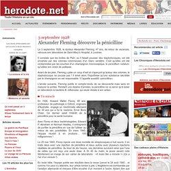 3 septembre 1928 : découverte de la pénicilline