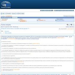Résolution législative du Parlement européen du 8 septembre 2015 sur la proposition de directive du Parlement européen et du Conseil relative au clonage des animaux des espèces bovine, porcine, ovine, caprine et équine élevés et reproduits à des fins agri