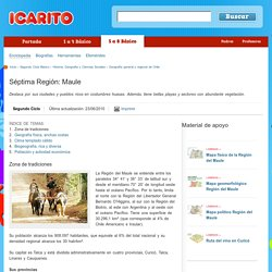 Geografía general y regional de Chile