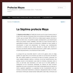 La Séptima profecía Maya