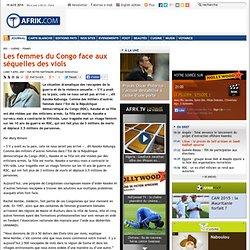Les femmes du Congo face aux séquelles des viols