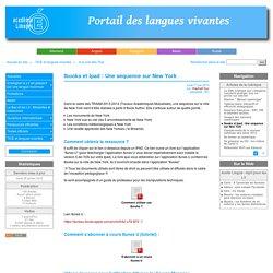 Ibooks et Ipad : Une séquence sur New York - Académie de Limoges : Langues Vivantes