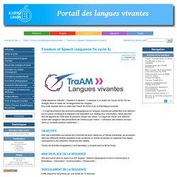 Freedom of Speech (séquence fin cycle 4) - Académie de Limoges : Langues Vivantes